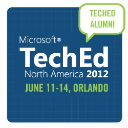 I'm attending TechEd 2012